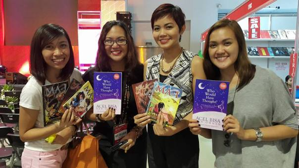 Acel Bisa-Van Ommen was one of the firsts who grabbed a set of MA-I Books. I was actually overwhelmed at the fact that she was more giddy with having an autograph signed. Hello? I'm the fan girl here. I love her music since I was in highschool! (c) Hanah Alparas